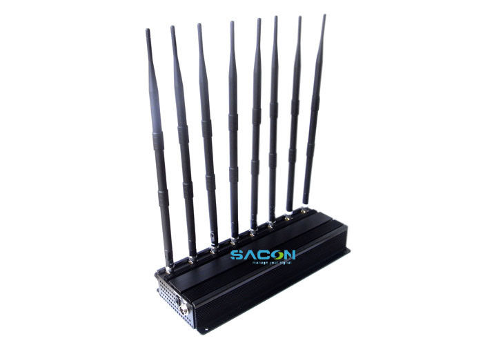 18 Watt Indoor Cell Phone Signal Inhibitor 12V DC , Cell Phone Frequency Jammer