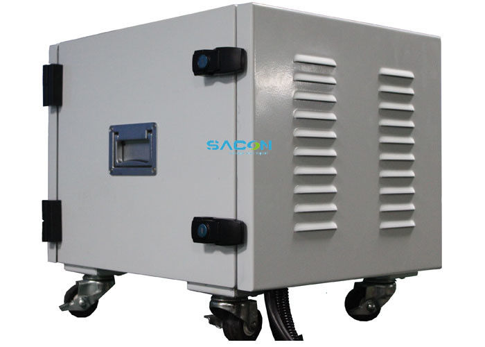 AC110-240V 1300 W DDS Jammer With 13 Omni Antennas , 20 MHz - 3000 MHz
